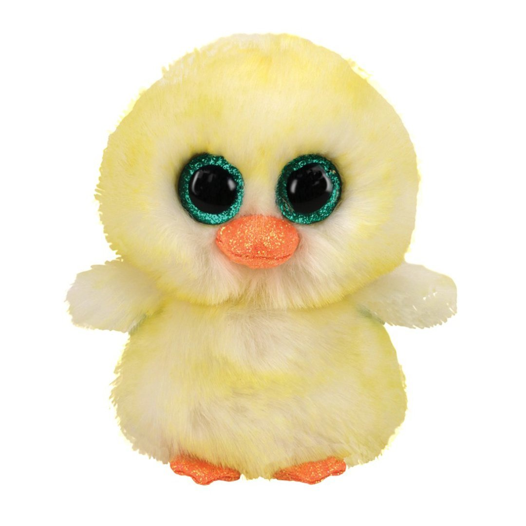 Ty Beanie Boos 6in Regular - LEMON DROP - Chick
