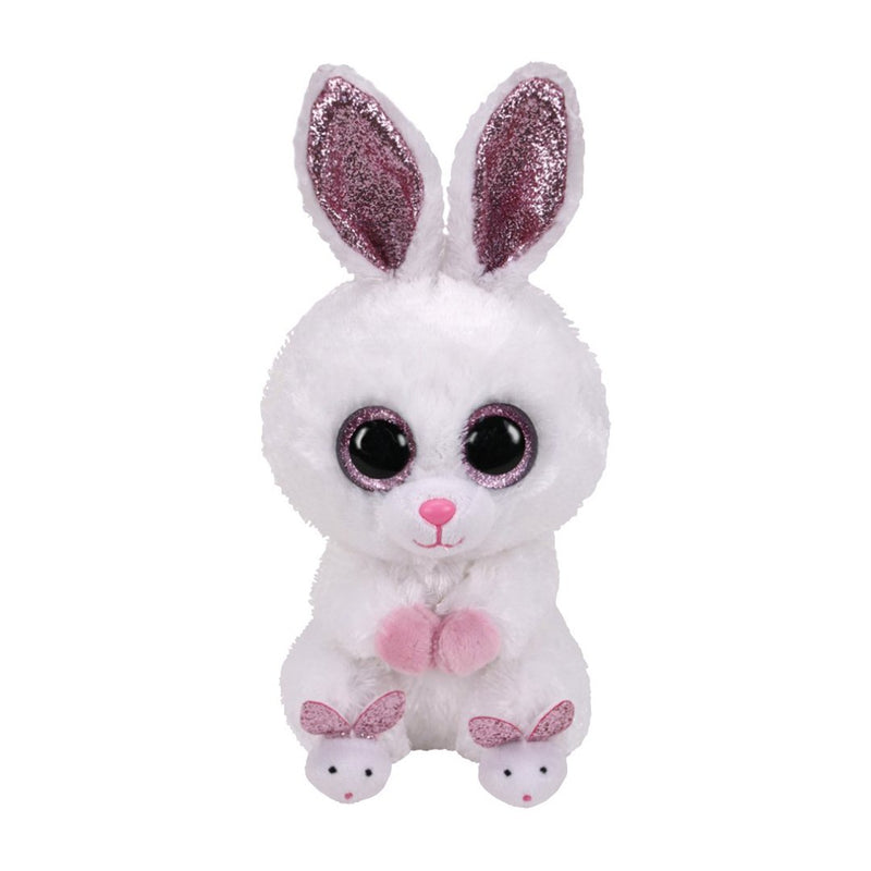 Ty Beanie Boos 6in - SLIPPERS - Rabbit w Slippers