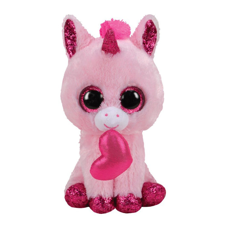 Ty Beanie Boos 6in - DARLING - Unicorn Valentine