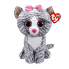 Ty Beanie Boos 16in Large - KIKI - Grey Cat