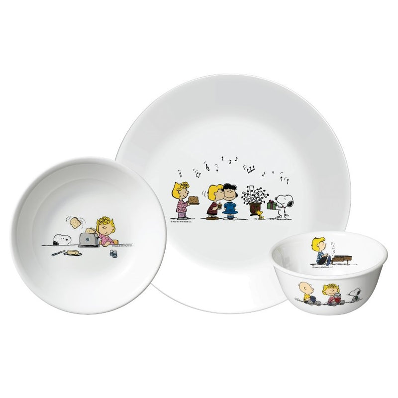 3pc Serving Set (Snoopy Colourful)