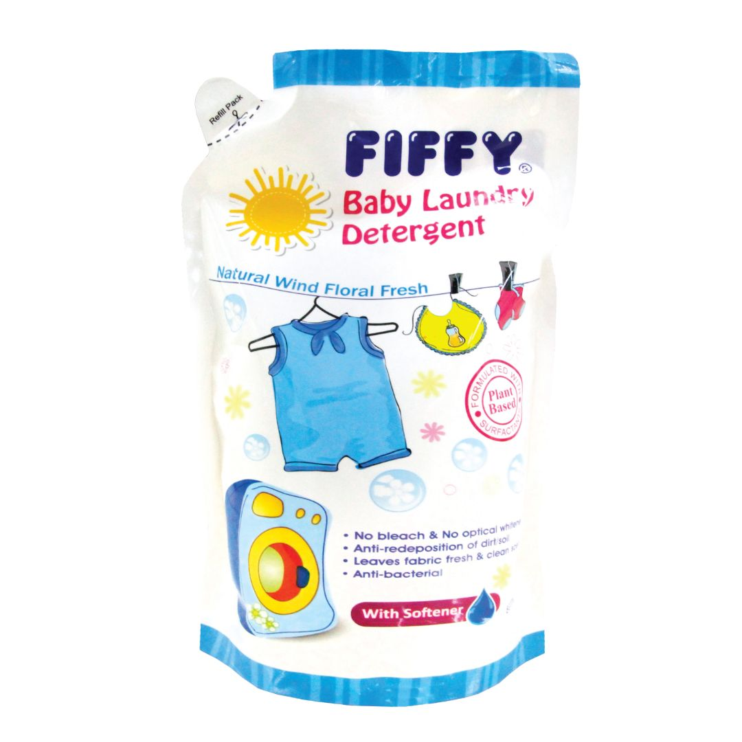 Baby Laundry Detergent With Softener Refill (800ml)