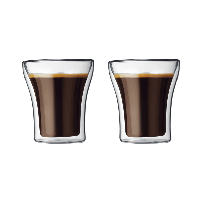 Assam Double Wall Glass, Set Of 2