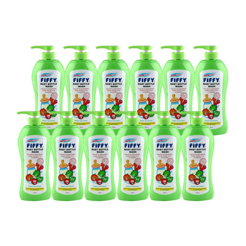 Bottle Wash Green Tea 750ml (Carton Deal)