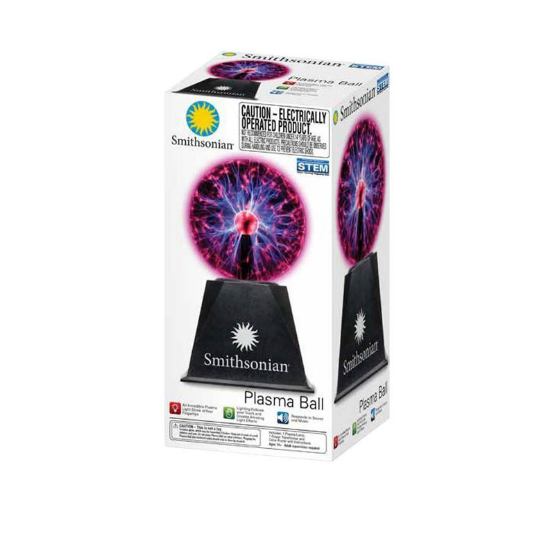 Smithsonian 5in Battery Operated Plasma Ball