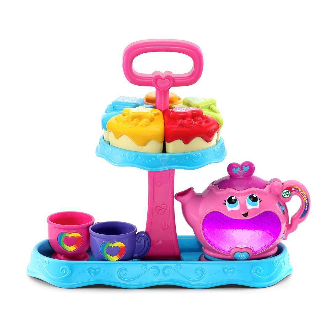 New Musical Rainbow Tea Party (With Cake Stand)