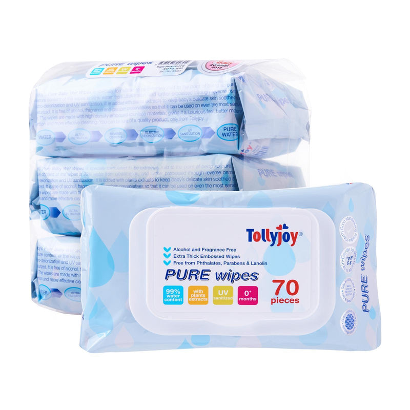 Pure Wipes 70s, 3-packs set
