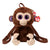 Ty Fashion - COCONUT - Monkey Fabric Backpack