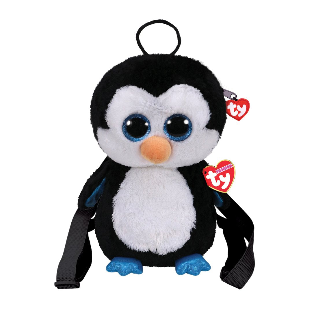 Ty Fashion - WADDLES - Penguin Fabric Backpack