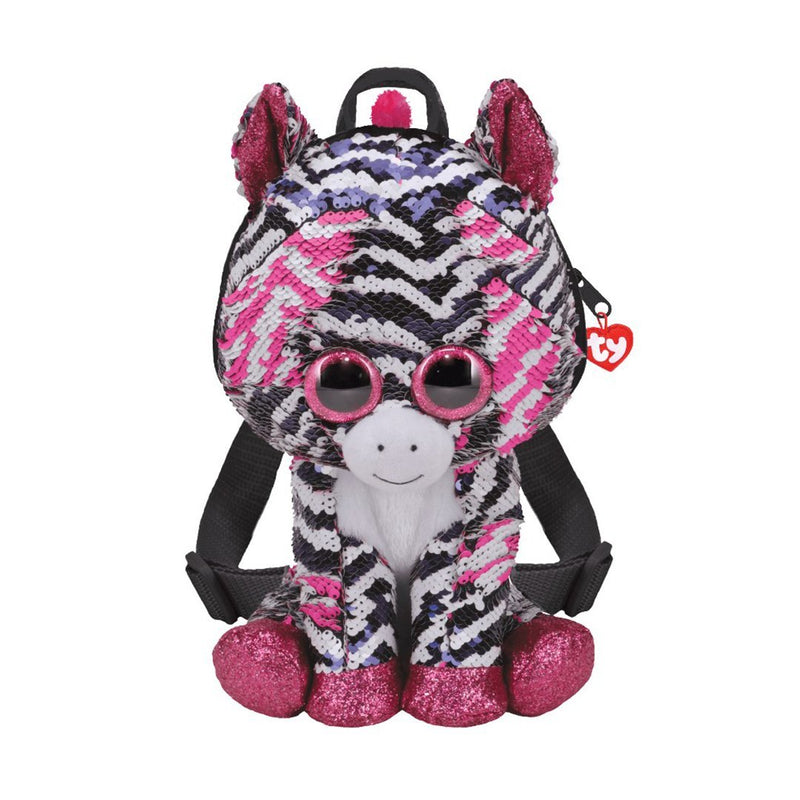 Ty Fashion Sequin - ZOEY - Sequin Zebra Backpack (V2)