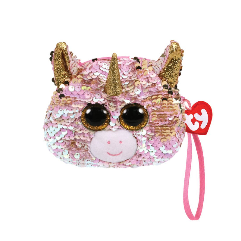 Ty Fashion Sequin - FANTASIA - Unicorn Sequin Wristlet
