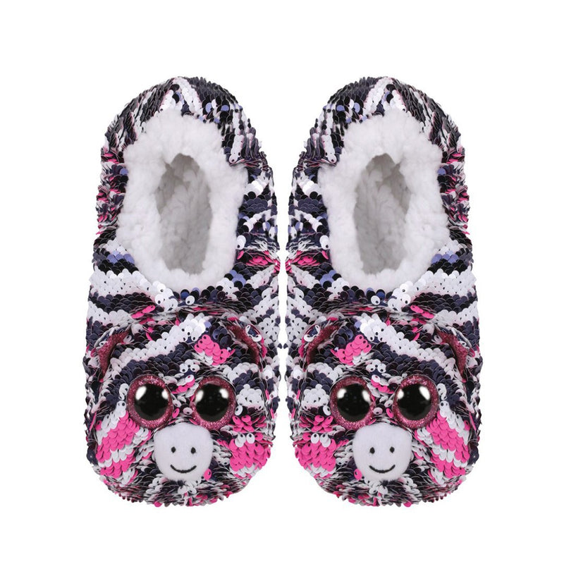 Ty Fashion Sequin - ZOEY - Sequin Slipper Socks