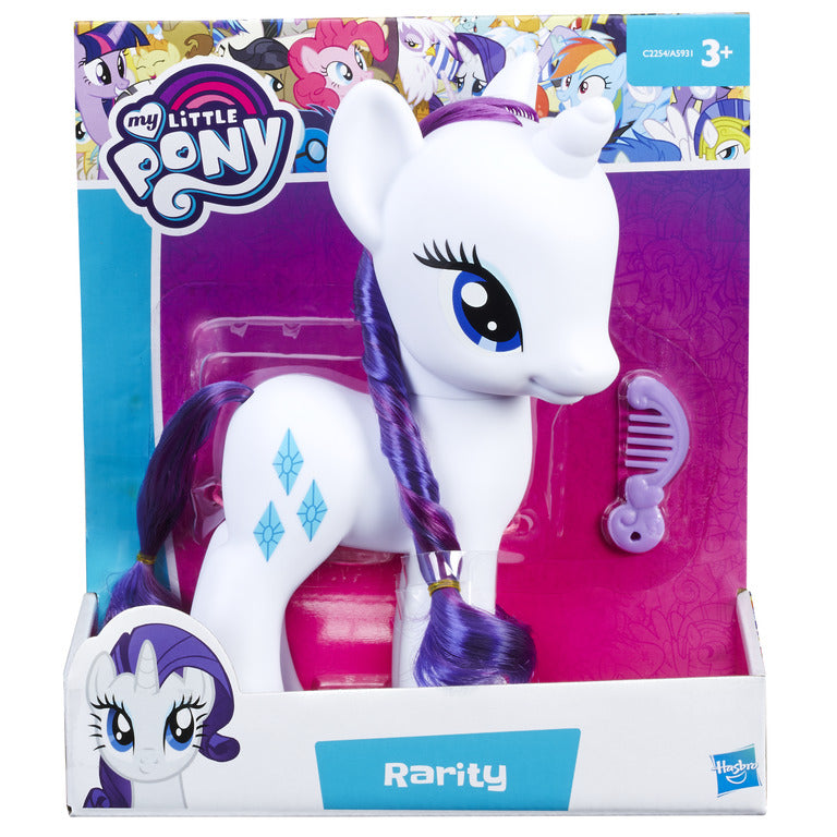 "My Little Pony 8"" Rarity/Fluttershy"
