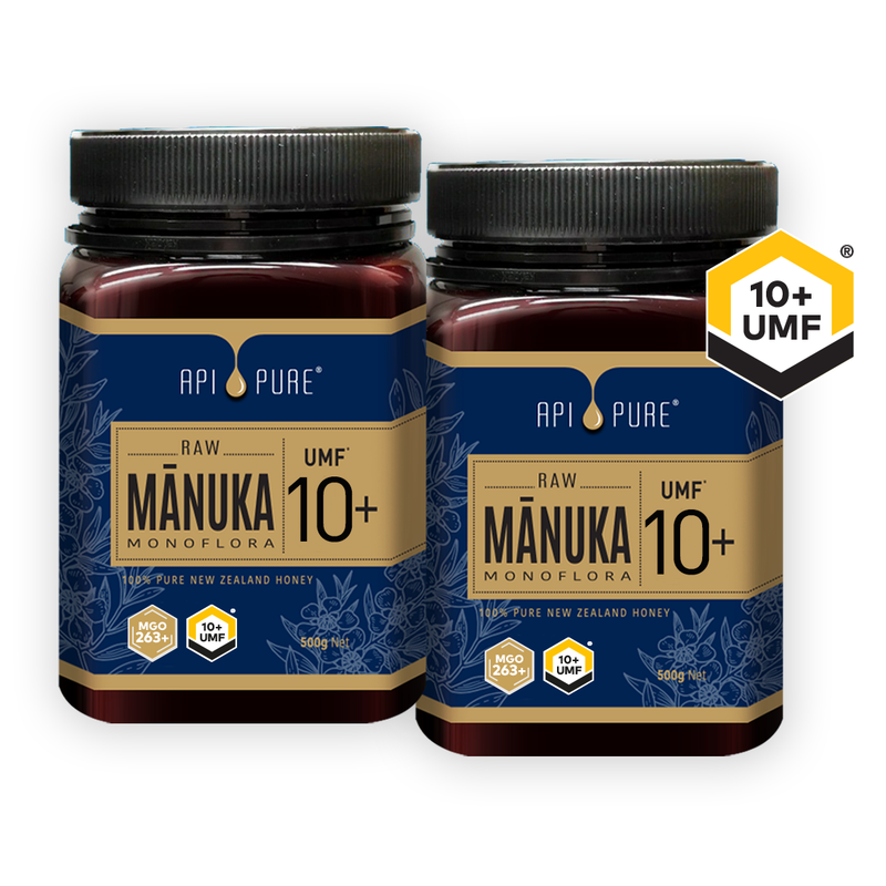 (Bundle of 2) Raw Manuka UMF 10+ 500g