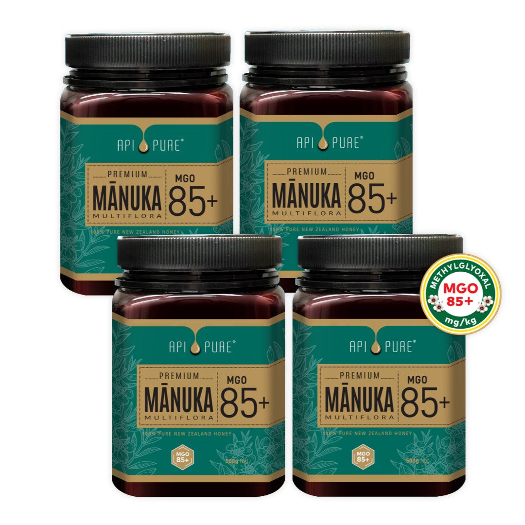 (Bundle of 4) Manuka MGO 85+ 500g