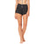 Athleiswim™ Petal Hem Shorts II in Black