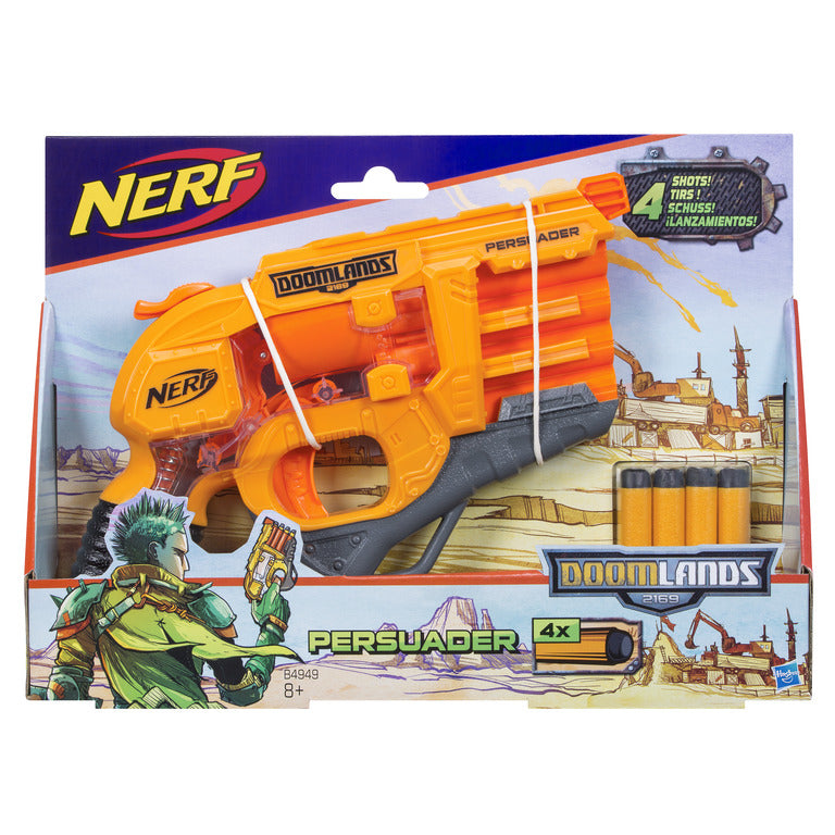 Persuader Nerf Doomlands Toy Blaster with Hammer Action