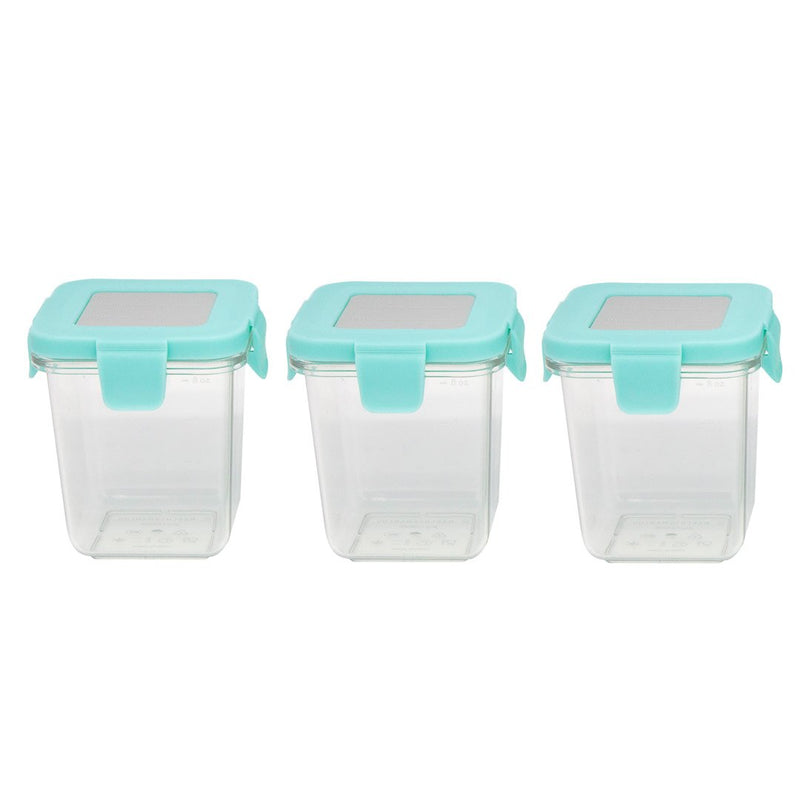 Tritan Air Tight Container - 8Oz X 3Pcs