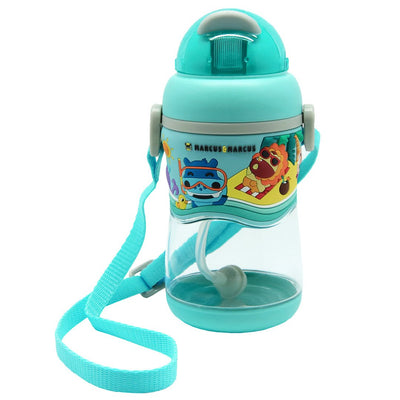 2-Stage Tritan Straw Bottle - Blue