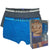 Trunks With Elastic Waistband 2-PC (Blue/ Grey)
