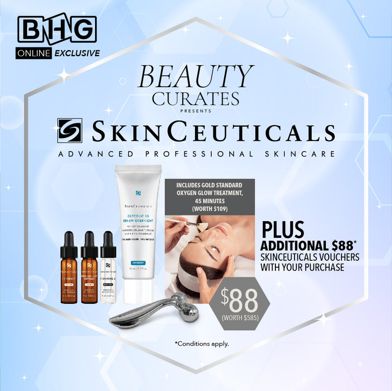 BEAUTY CURATES presents SkinCeuticals (worth $585)