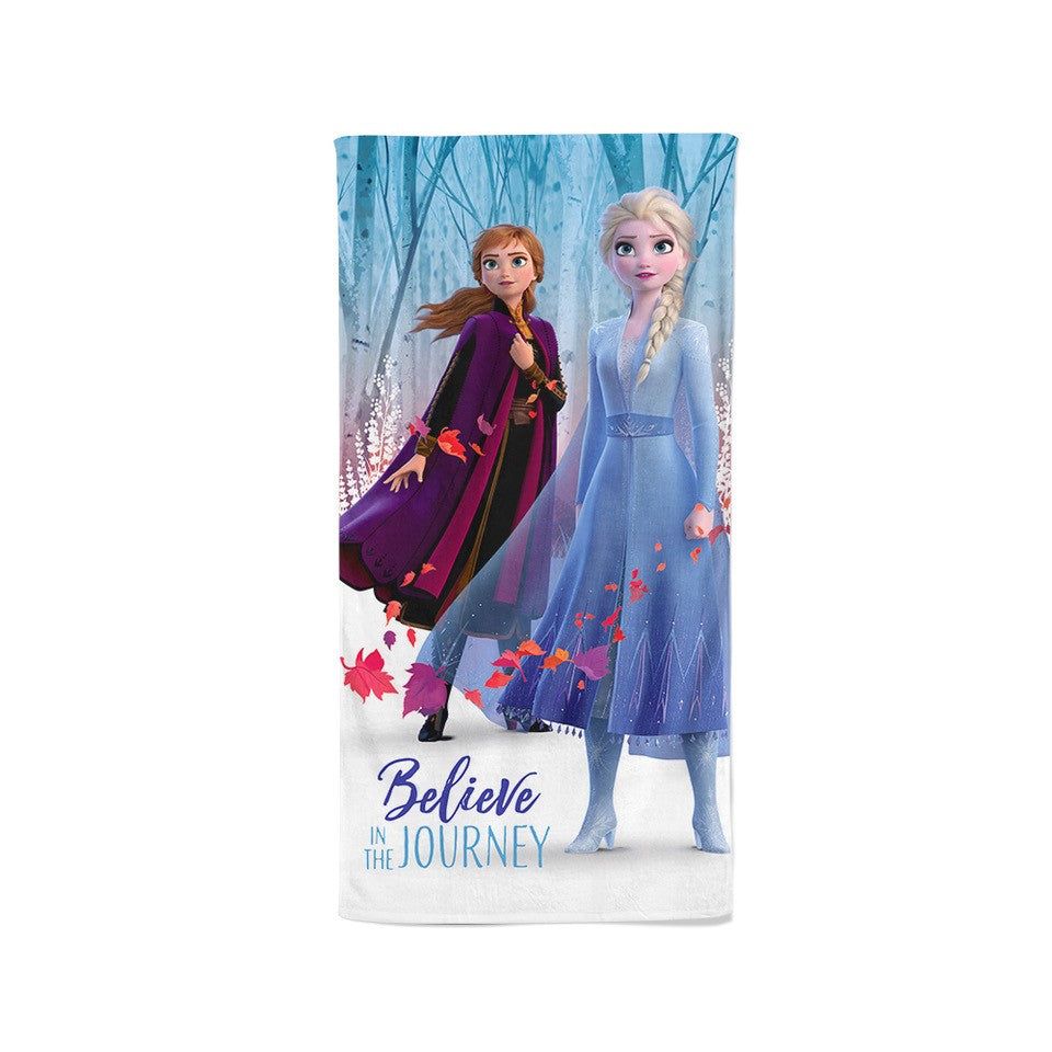 Disney Frozen 100% Cotton Bath Towel (Believe)