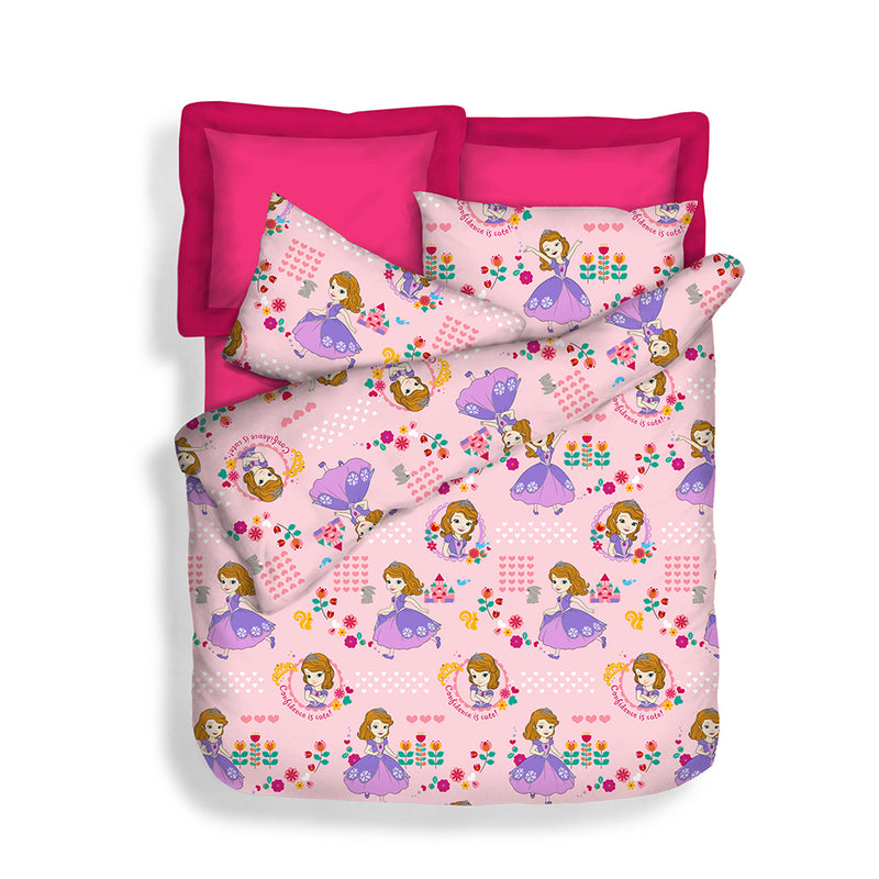 Disney 900TC 100% Microluxe Summer Light Quilt (Best Me)