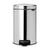 Pedal Bin 12L Brilliant Steel
