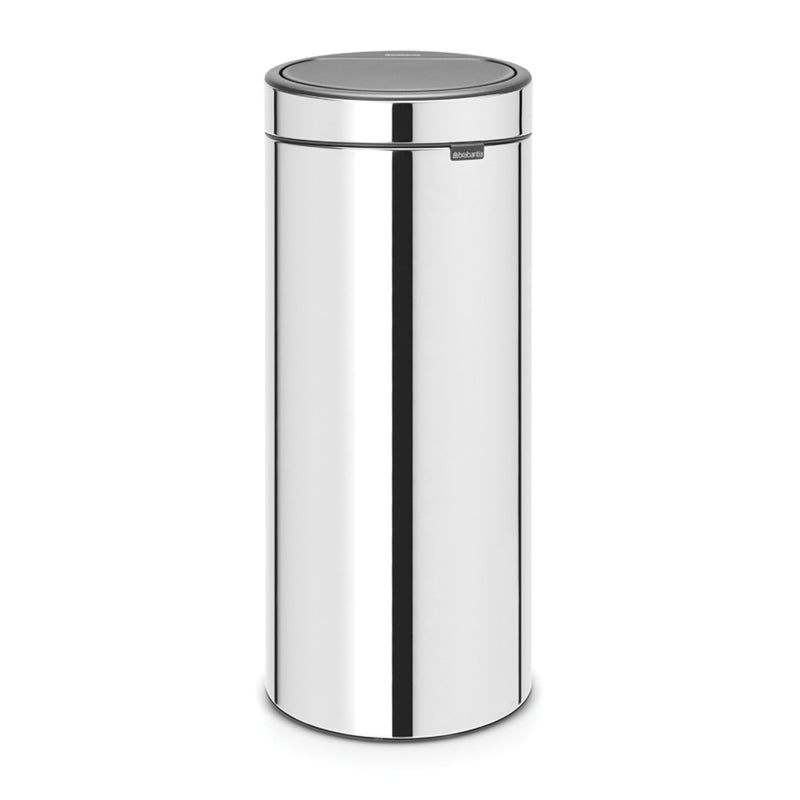Touch Bin 30L Brilliant Steel