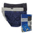 Micro Briefs 3-PC (Black / Grey / Blue)