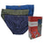 Mini Briefs 3-PC (Blue / Dark Grey / Dark Blue)