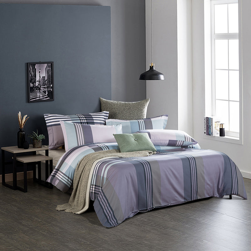 Luxe Living 900TC Tencel Printed Fitted Sheet Set (Carlton)