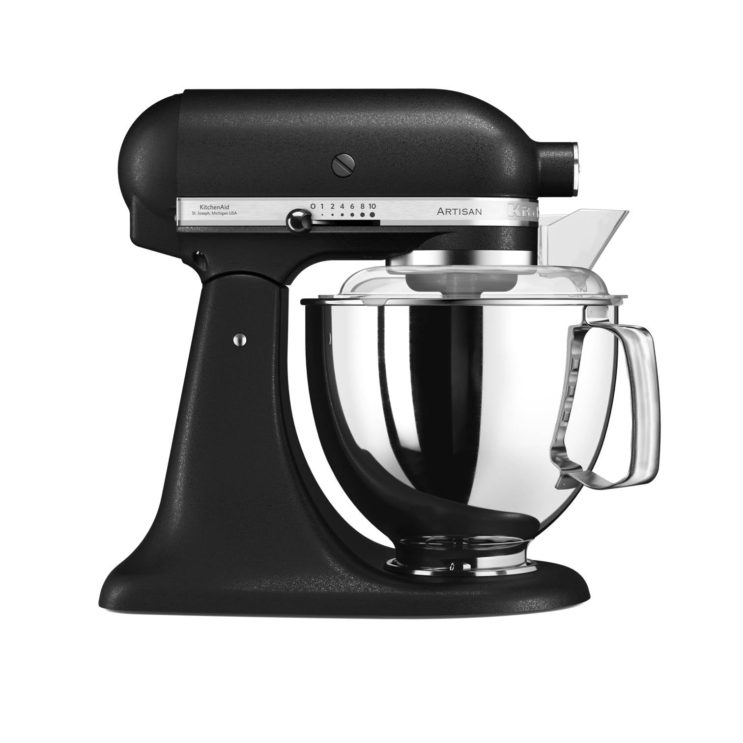 4.8L Mixer in Cast Iron Black