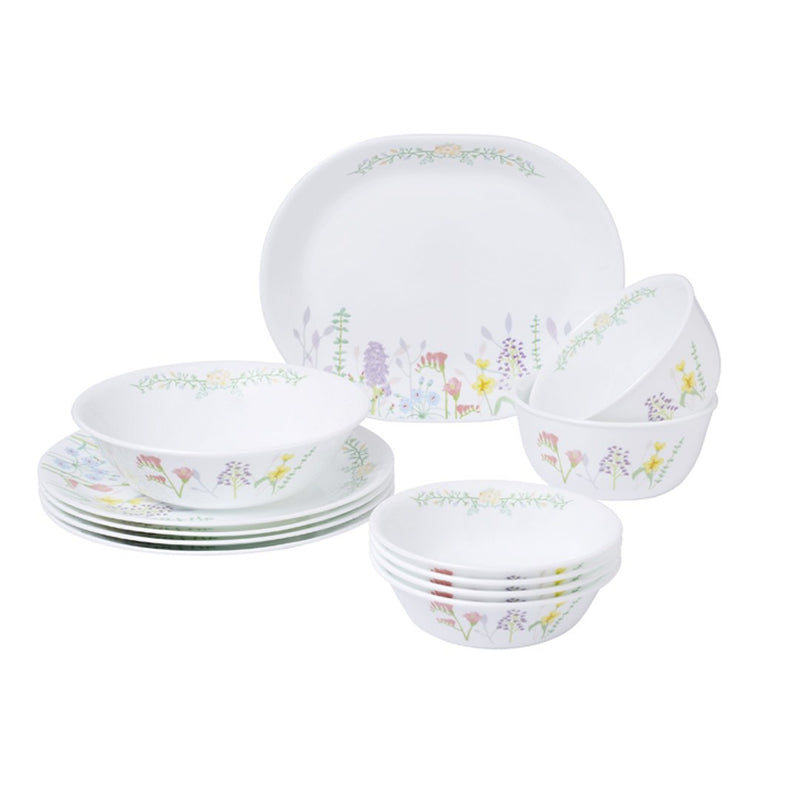 12 pc Dinner Set, Blooms