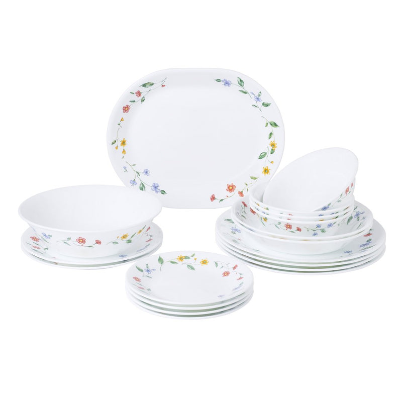 18pc Dinner Set, Purun Flower