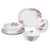 12pc Dinner Set, Mystic Bloom