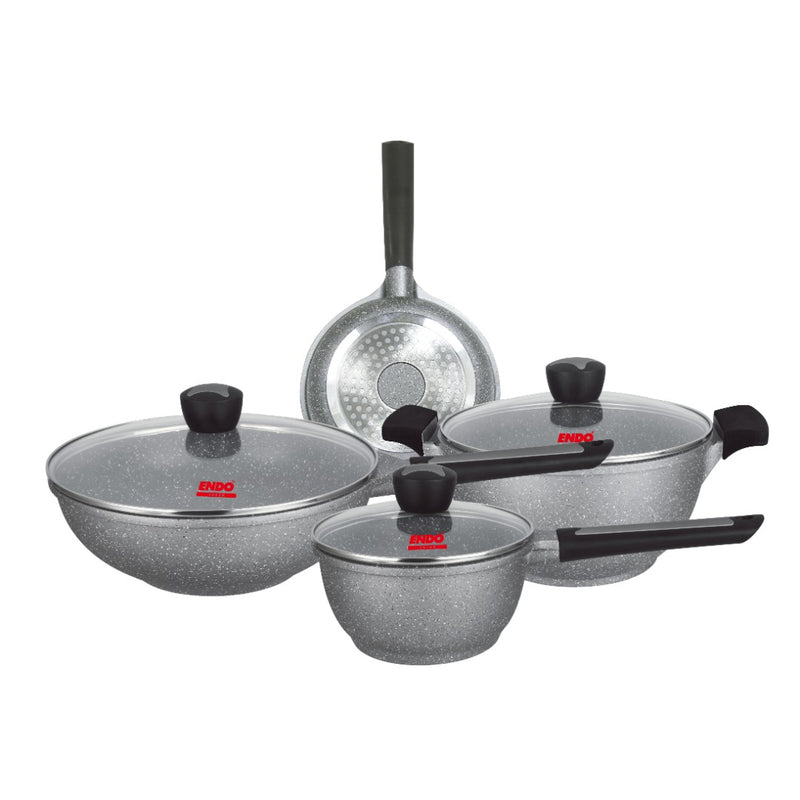 7pc I.H. Die Cast Cookware Set