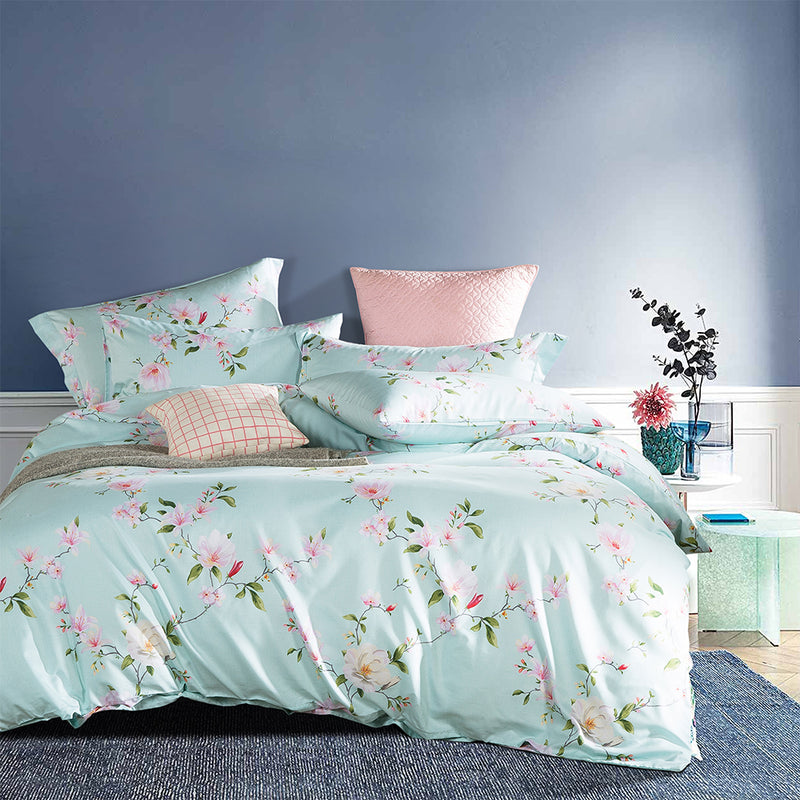 Luxe Living 900TC Tencel Printed Bed Set (Ellis)