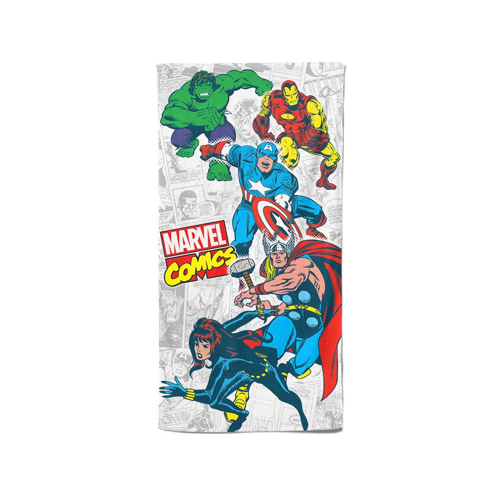 Disney Marvel 100% Cotton Bath Towel (Fighters)