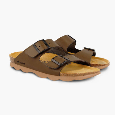 Weekend Oiled Leather Sandals