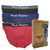 Bamboo Mini Briefs With Elastic Waistband 3-PC Assorted Colours