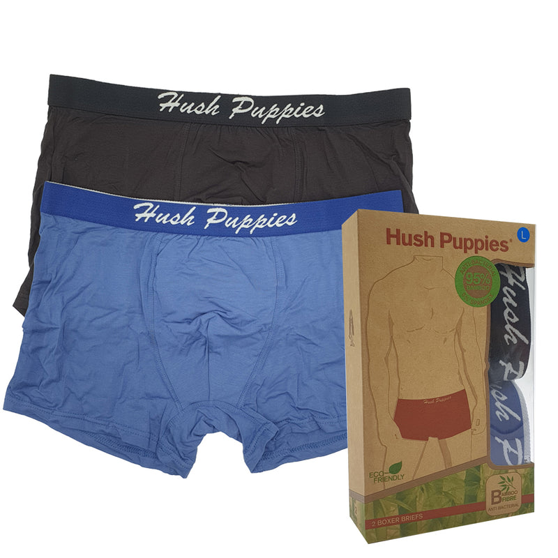 Bamboo Trunks With Elastic Waistband 2-PC Assorted Colours