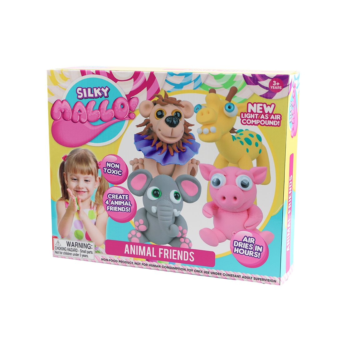 Silky Mallo Animal Friends Pack