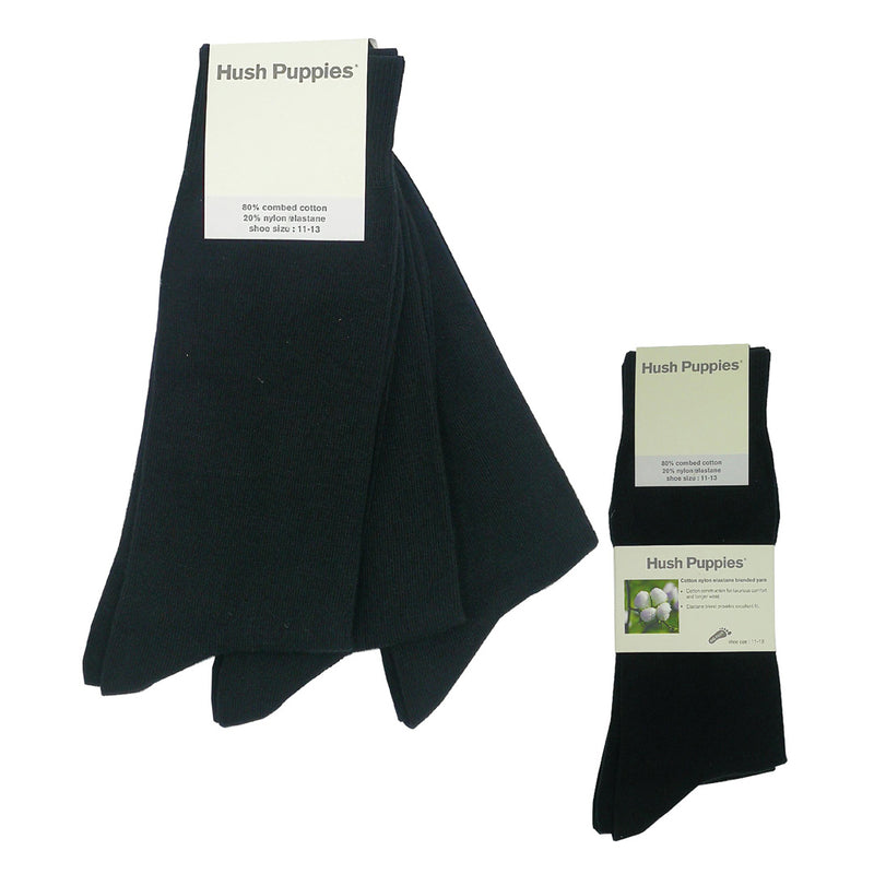 Big Foot Socks 3-Pairs (Black / Navy / Charcoal)