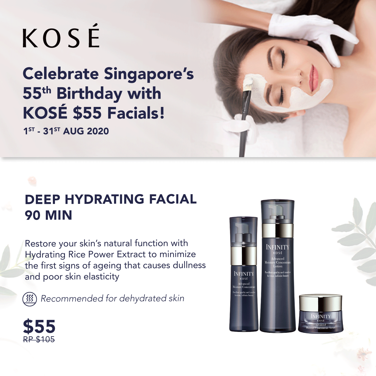 Deep Hydrating Facial SG55