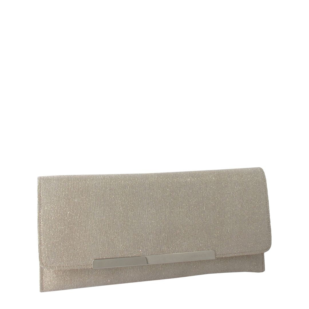Long Rectangle Clutch (Gold)