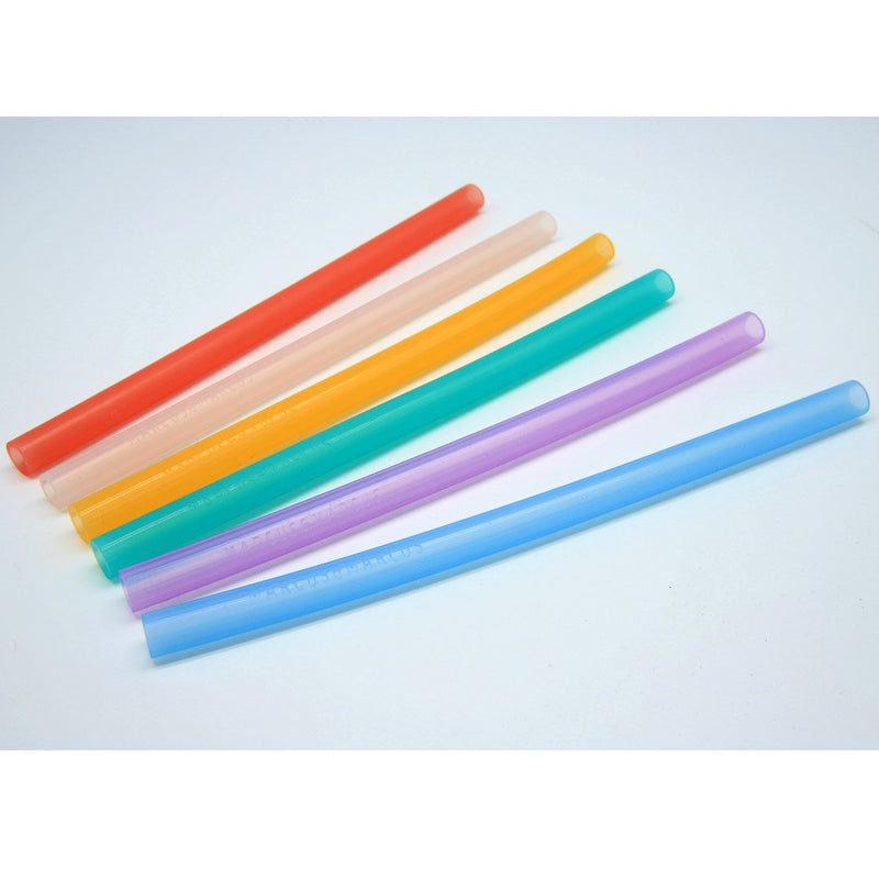 Silicone Straws & Brush Set