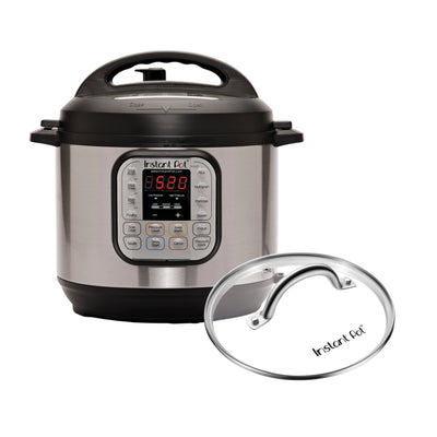 Duo Deluxe w/ Glass Lid (6Qt Gray)