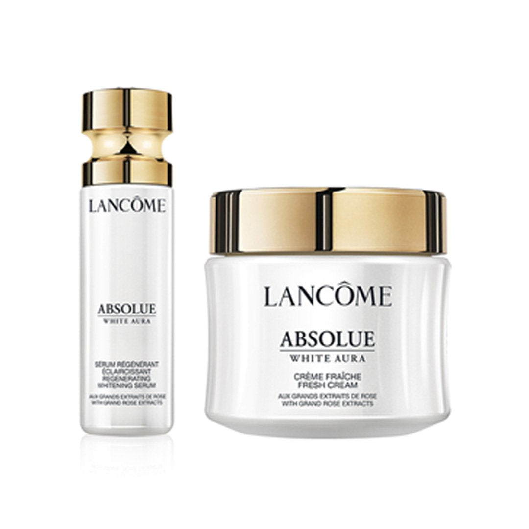 Absolue White Aura Serum & Cream Set