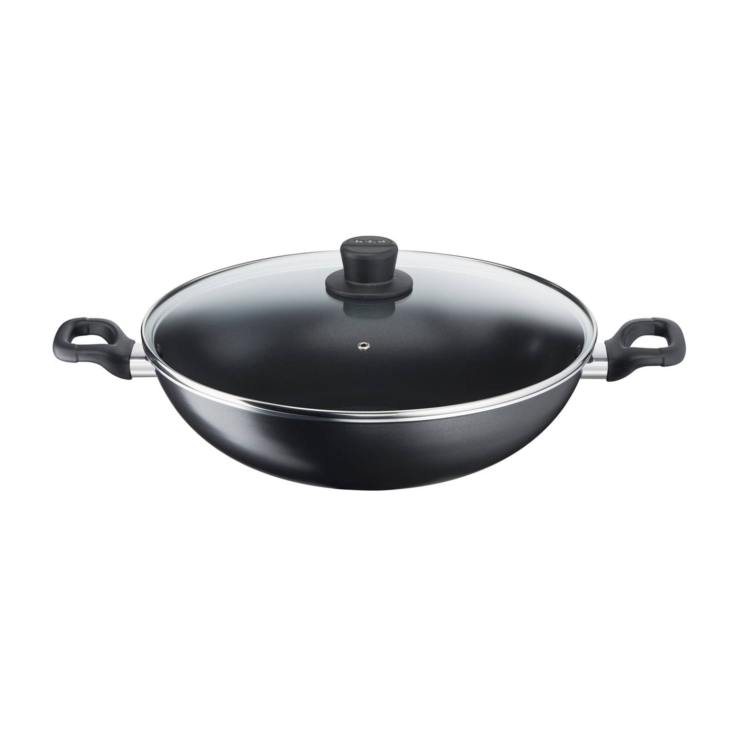 Cook'Easy 36cm Chinese Wok with lid